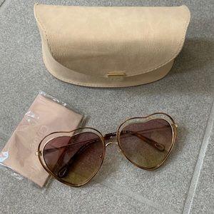 Chloe heart ♥️ poppy sunglasses